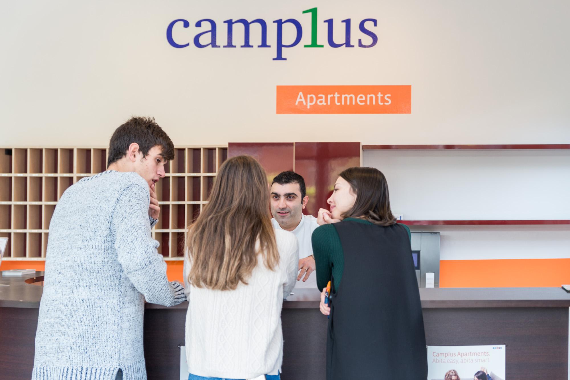 Proprietari e studenti con CAMPLUS